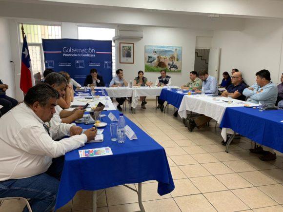 GOBERNADORA DE LA PROVINCIA CORDILLERA LLAMA AL ESPECIAL CUIDADO DE LOS ADULTOS MAYORES Y A SER SOLIDARIOS