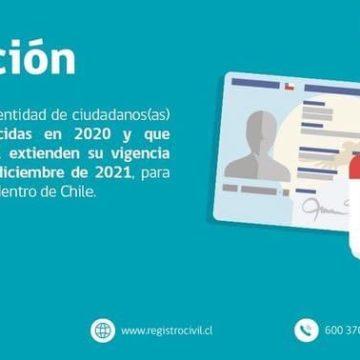 EXTENSIÓN VIGENCIA CÉDULA DE IDENTIDAD