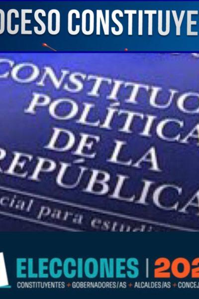 CONSTITUYENTES ELECTOS EN NUESTRO DISTRITO
