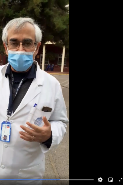 Mensaje del Director del Hospital Sotero del Rio