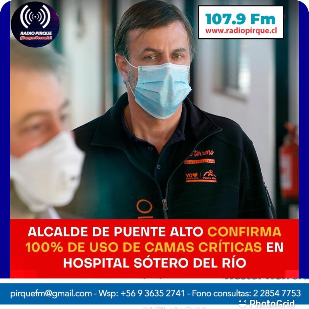 Atención, Colapso de UCI en Hospital Sótero del Rio y varios más