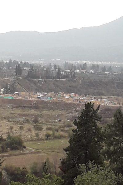 Se agudizan tomas en sectores cercanos al rio Maipo y Pirque